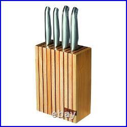 100% Genuine! FURI Pro 5 Piece Wood Knife Block Set! RRP $399.00