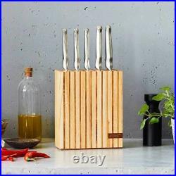 100% Genuine! FURI Pro 7 Piece Wood Knife Block Set with Sharpener! RRP $569.00