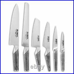 100% Genuine! GLOBAL Kabuto 7 Piece Knife Block Set Black! RRP $999.00