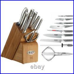 100% Genuine! GLOBAL Takashi 10 Piece Knife Block Set! RRP $1399.00