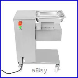 110V Meat Slicer 500Kg Output Meat Cutting Machine Meat Cutter 1 Set of Blade