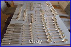 135pce Cutlery Kings Pattern EPNS & Stainless Steel