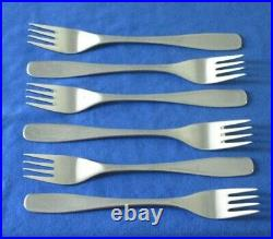 26 Pieces Modernist David Mellor THRIFT Stainless Steel Cutlery Set For 6 People