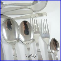 46pce Vintage Globus Stainless Steel Danish Cutlery Set 6 person