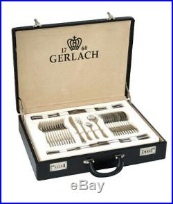 68 PCs Stainless Steel Cutlery Set Case Dining Utensils Tableware Gift Gerlach