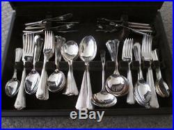 ART DECO UNITED CUTLERS OF SHEFFIELD SILVER GRECIAN CANTEEN OF CUTLERY 102pc