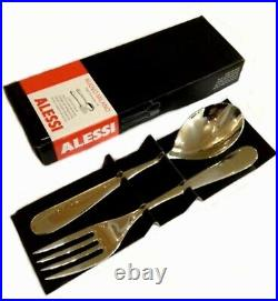 Alessi 24 Piece Table Cutlery Sets & 2 Piece Serving Set Nuovo Milano NEW design