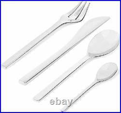 Alessi Colombina FM06S24 Cutlery Set 24 Pieces in 18/10 Stainless Steel OFFER