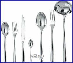Alessi LCD01S75M Caccia, Cutlery set (75 Pieces)
