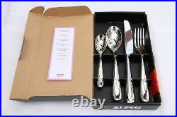 Alessi Nuovo Milano 4 Piece Table Cutlery Set (Teaspoon) (Select Quantity)