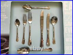Amefa Baguette 44 Piece Dinner Party Set in 18.10 Brand New