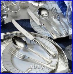 Arthur Price 32-Piece Stainless Steel Old English Cutlery Set Dishwasher Safe