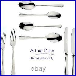 Arthur Price Grecian 58 Piece Cutlery Set ZGIS5801