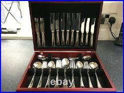 Arthur Price International 8 place setting cutlery set Bead Design (Boxed)