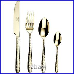 Arthur Price Monsoon Champagne Mirage Stainless Steel 32 Piece Cutlery Set