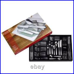 Arthur Price Vision 1810 Stainless Steel 76 Piece Cutlery Set 8 People Giftboxed