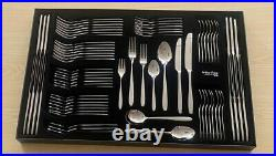 Arthur Price Vision 76 Piece 18/10 Stainless Steel Cutlery Set, Christmas gift