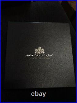 Arthur Price of England Royal Pearl Sovereign 46 Piece Cutlery Set