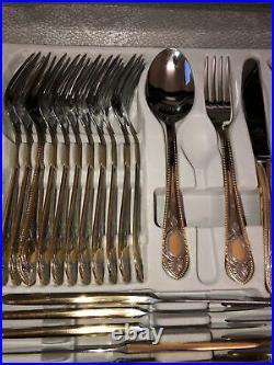 Bestecke Solingen Toscana Gold Plated Cutlery Set