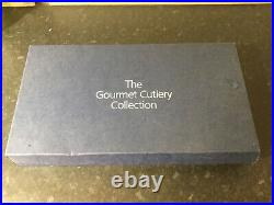 Boxed 100 Piece Stainless Steel Gourmet Cutlery Collection 8 Place Settings