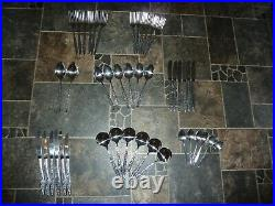 Complete VINERS Mosaic 44 Piece Solid Stainless Steel Cutlery Set (L 694 / 487)