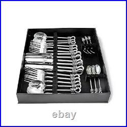 Culinary Concepts Polished Knot 24 Piece Cutlery Set BNIB