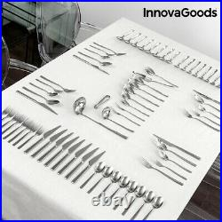 Cutlery set, Luxurious, High-Quality Complete, 72 PARTS, Perfect for Home and Gift