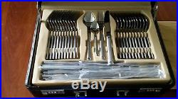 Damascus Steel 72 Piece Cutlery Set in Gift Security Cast
