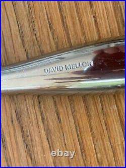 David Mellor City Cutlery 8 Place Settings + Teaspoons & Serving Spoons 60 Items