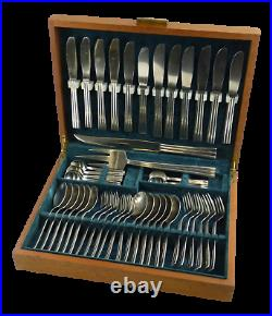 GENSE Cutlery THEBE Pattern by Folke Arstrom 44 Piece Canteen for 6