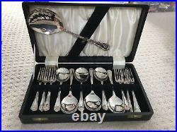 GEORGE BUTLER Cutlery DUBARRY Pattern Canteen Set