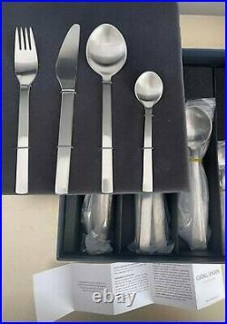 GEORG JENSEN New York Cutlery 24 Piece Set BRAND NEW IN BOX Rrp $440