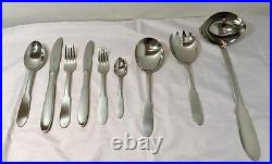 Georg Jensen Mitra 3600 Cutlery Service 75 pcs Posate Stainless Steel NEW