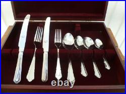 George Butler Stainless Steel 48 Piece Cutlery Set Brand New