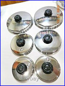 HUGE SALADMASTER Set 316L Surgical Stainless Waterless Cookware Food Cutter