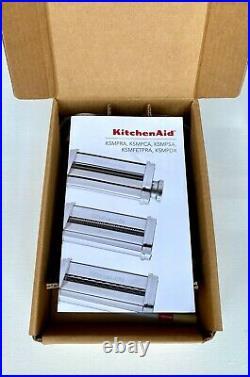KitchenAid 3-Piece Pasta Roller & Cutter Set KSMPRA