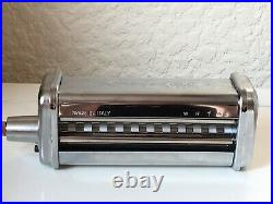 KitchenAid Pasta Sheet Roller And Cutter Set Attachments Stainless Steel boxed