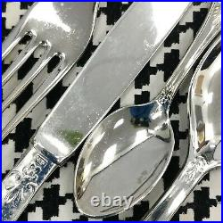 LBL A800 EP Zing Italian Silver Plated Cutlery 12 Place Settings Boxed 153012