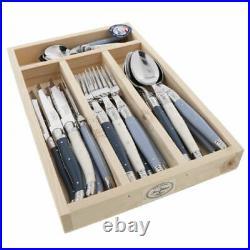 Laguiole 24 Piece Cutlery Set Maison by Jean Dubost Atelier