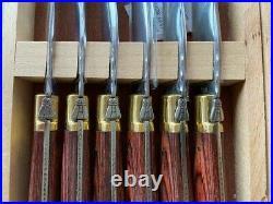 Laguiole L'Eclair 440 6 Piece Steak Knife Set incl Presentation Box