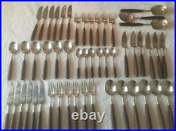 Lauffer Norway Vintage Rosewood Flatware Set