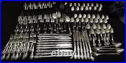 Lifetime Cutlery Stainless Steel Flatware Pierrepont 114pc Set -Korea