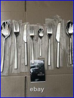 Mepra Atena Cake Server Set, Set of 38, Silver Stainless Steel 18/10