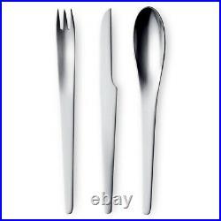 NEW Georg Jensen Arne Jacobsen Cutlery Set 24pce