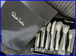 New Robert Welch 84 Piece Cutlery Set Malvern (Bright)