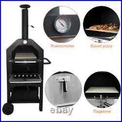 Pizza Oven Set withBread Peel Cutter Outdoor Garden Patio Barbecue Cooking BBQ