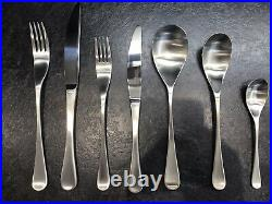 ROBERT WELCH 42 Piece Cutlery Set'RW2 Satin Finish' for 6 people RRP £230