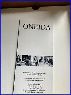 ROBERT WELCH Alveston 44 PIECE CUTLERY SET New & Boxed Oneida / Old Hall