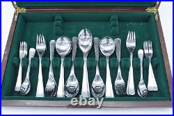 Rare Vintage HERBERT HOUSLEY Penthouse Stainless Steel Cutlery Set Canteen W35