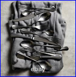 Robert Welch Bruton 24 Piece Stainless Steel Cutlery Set for 6 People RRP £240